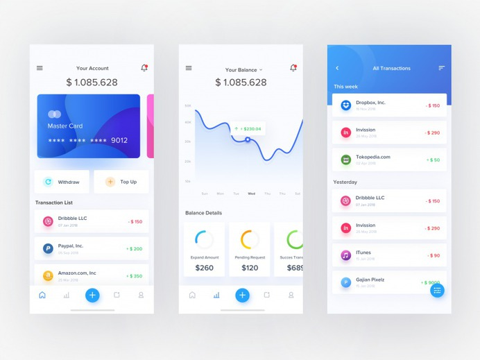e-chain wallet app by Sulton hand