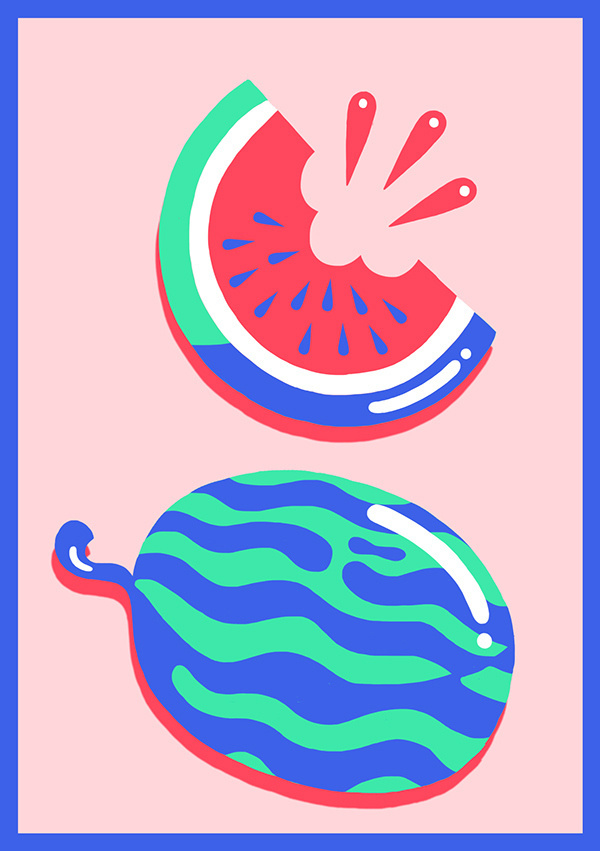 The Ultimate Summer on Behance #watermelon