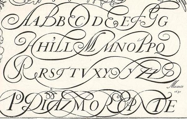 Typographic-Flourish-13.jpg (JPEG Image, 600×383 pixels) #design #graphic #swashes #oldstyle #type #typography