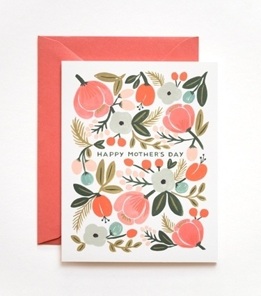 Rifle Paper Co. - Blooming Mother's Day Card #inspiration #apfel #prinz