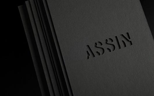 XLII — MEDIUM: EXTRA LARGE #stencil #assin #black #diecut