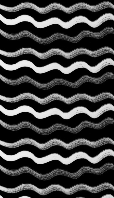 uinverso pattern #ink #bw #waves