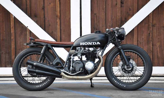 Custom Motos - Seaweed & Gravel #motorcycle