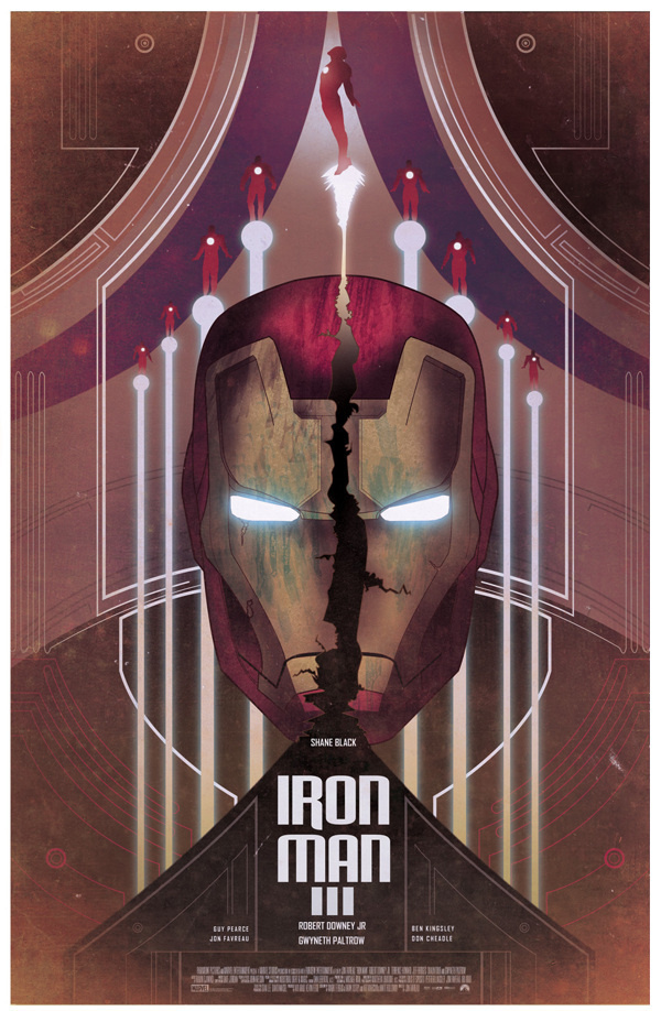 The best fan made poster for Iron Man 3 #film #made #iron #3 #marvel #poster #man #fan