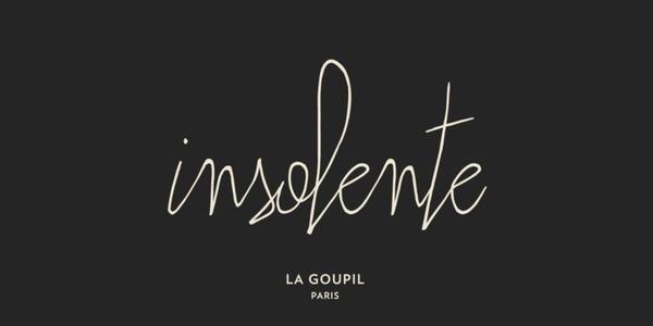 Insolente Webfont #font #lettering #insolente