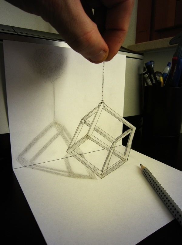 CJWHO ™ (Drawings by Alessandro Diddi 'All you need is a...) #illusion #design #illustration #art #drawing