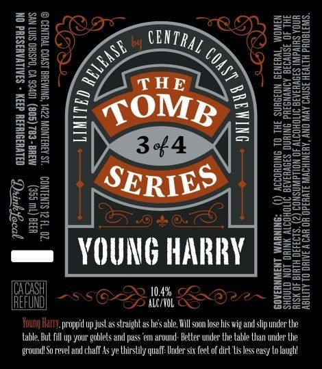 Central Coast Young Harry #packaging #beer