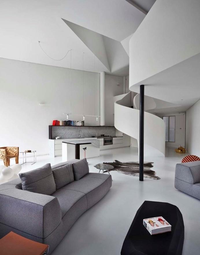 Best Apartments Dramatic Loft Apartment Curvalicious Images On Designspiration