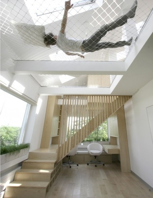 CJWHO ™ (Interior for Students, Moscow, Russia   Ruetemple) #design #wood #architecture #stairs #lol