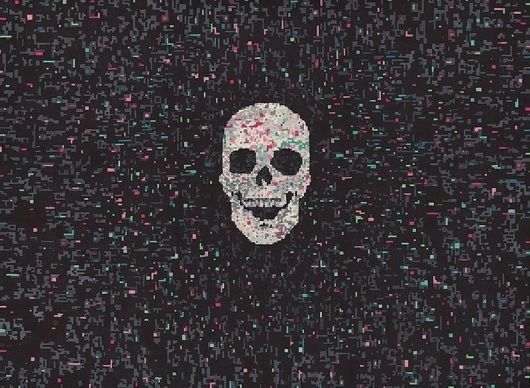 Hollis Brown Thornton | Art Sponge #marker #thornton #illustration #brown #hollis #skull #permanent
