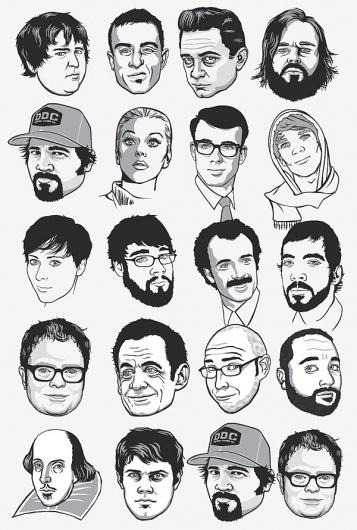 RONLEWHORN #illustration #portraits