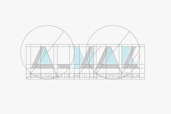 A_MAR Logo Grid #creative #branding #design #graphic #geometric #grid #logo