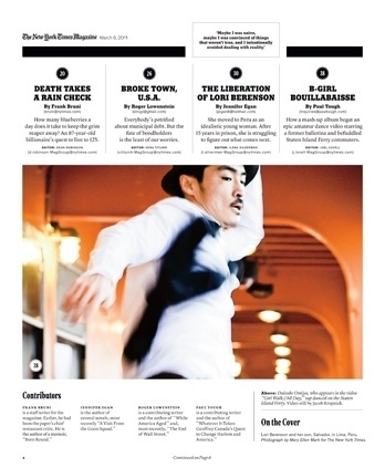 New York Times Magazine « Studio8 Design #grid #print #design #layout