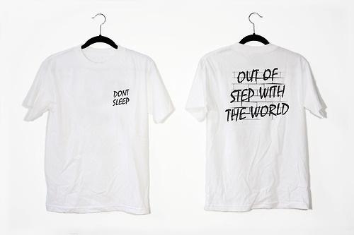 www.dontsleepmagazine.com #sleep #don #shirts #typography