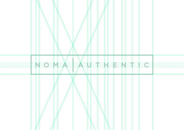 Noma Authentic on Behance #logo #identity
