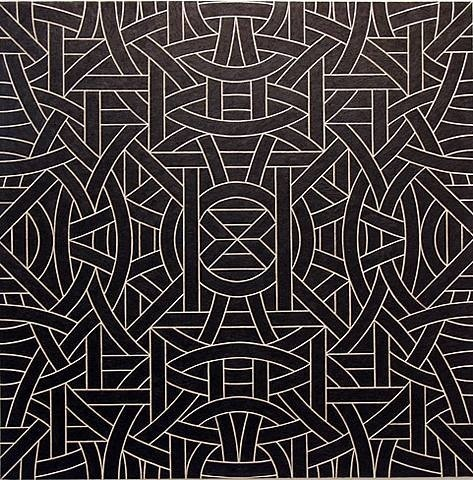 Valerie Jaudon #geometry #islamic #patterns