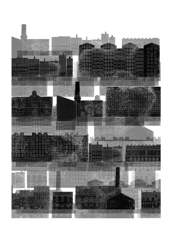 The Architectural Review Drawings Folio #illustration #architecture