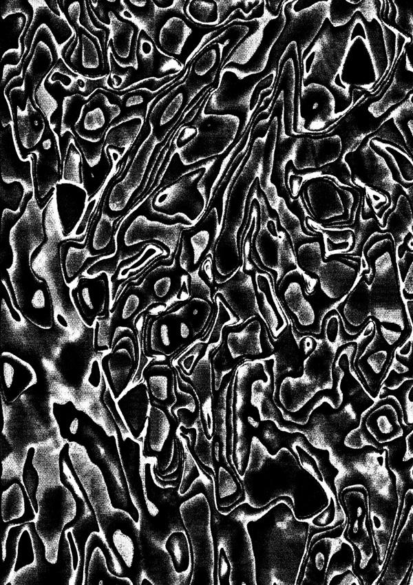 Foragepress.com | Jack Featherstone #pattern #motion #black #organic #noise