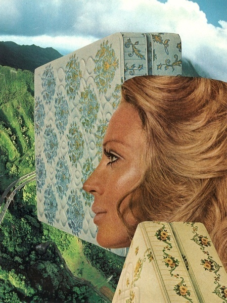 untitled Art Print #treece #jesse #collage