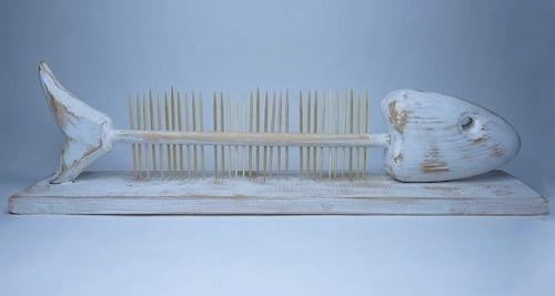 Toothpick holder #wood #fish #handmade #toothpick