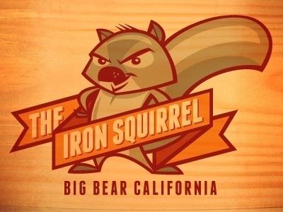 Dribbble - Iron Squirrel T-shirt Design by Kevin Taylor #illustration #design #tshirt #squirrel