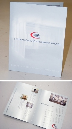 Industrial Finishing Systems | Brochure #arnold #print #design #graphic #coat #powder #metallic #brochure