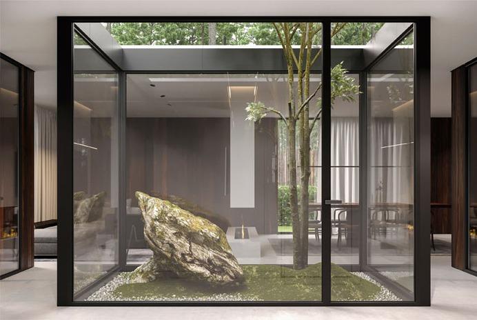 Forest House by Bezmirno Architects - InteriorZine