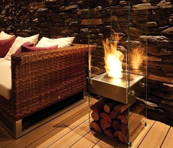 Ecosmart Fire Ghost Ventless Fireplace #gadget #home
