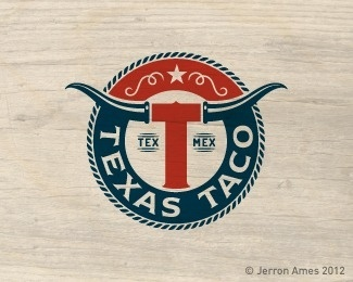 Texas Taco by jerron #logo #texas