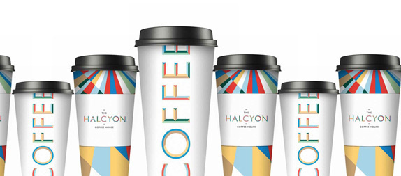 The Halcyon Logo and Identity #stationary