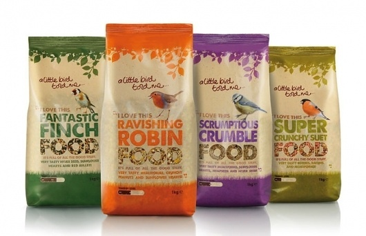 A Little Bird Told Me - TheDieline.com - Package Design Blog #packaging #design #graphic