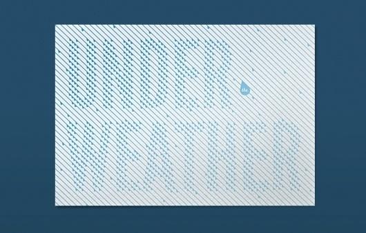 Ed Nacional | design / typography / illustration #nacional #ed #water #typography