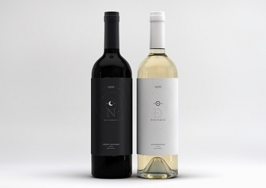 Nocturnalis / Durinalis on the Behance Network #bottle #alcohol #design #label #wine #brand #package