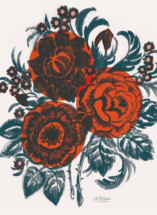 jill_dehaan_01 #floral