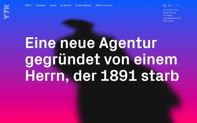 Y7K Zurich design agency agentur Schweiz Switzerland webdesign website minimal mindsparkle mag design blog