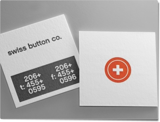 Cotton Card: swiss | Taste of Ink Studios #card