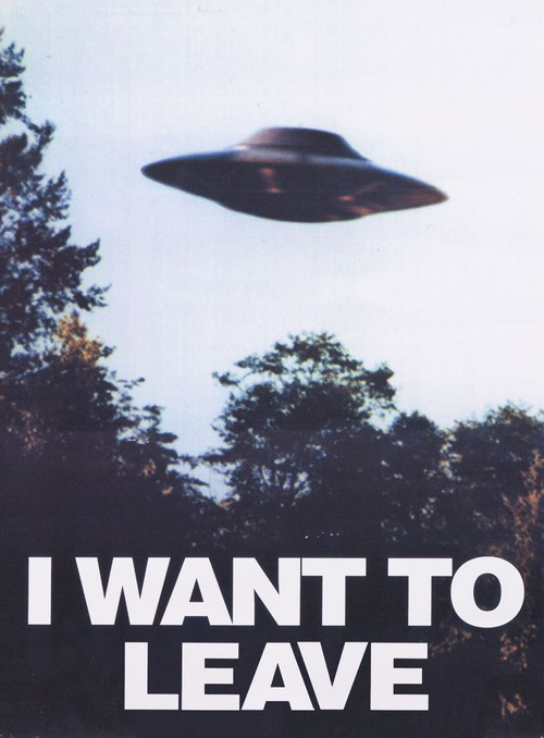 yes please #xfiles #ufo #poster