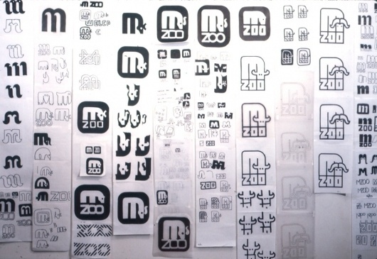 Lance Wyman Zoo pictograms #wyman #process #zoo #pictograms #lance