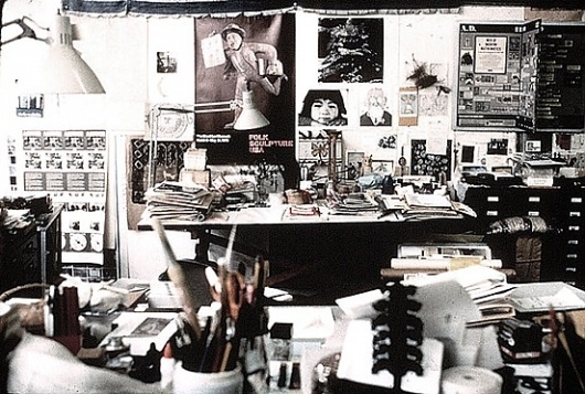 Swiss Cheese and Bullets - Journal - Inside the EamesOffice #office #studio #eames