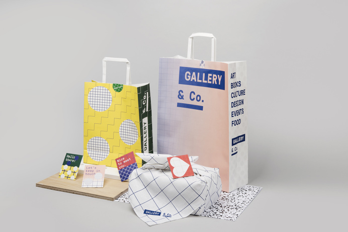 Gallery & Co. Branding by foreign policy graphic design Gallery & Co. is a Museum Shop with an all-encompassing concept of Design, Retail, F