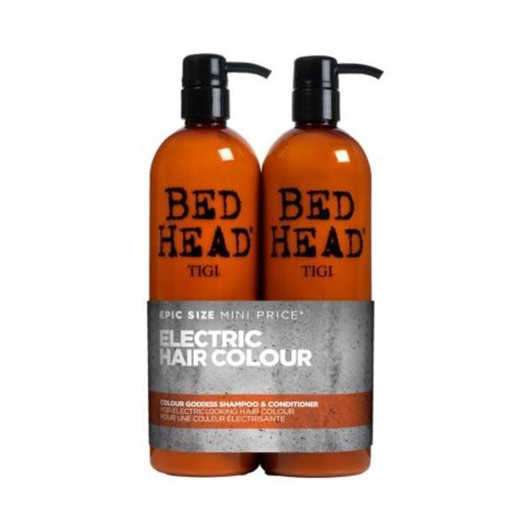 Tigi Bed Head Colour Goddess Shampoo & Conditioner For Brunette Hair Duo Pack