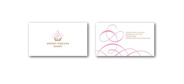 Corporate Identity #bakery #business #treats #card #sweet #identity #logo