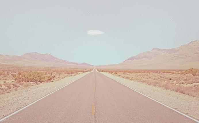 pastel desert