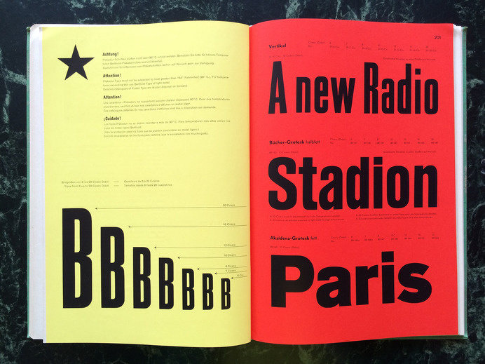 Berthold hauptprobe nr. 428 | Flickr - Photo Sharing! #font #specimen #lettering #design #typography