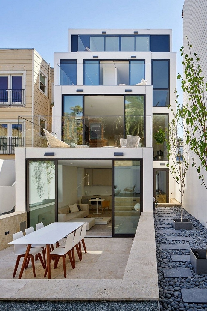 50 Oakwood House by Stanley Saitowitz-Natoma Architects