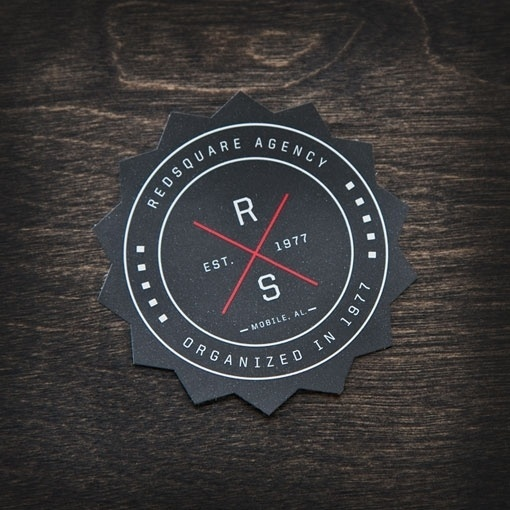 redsquareagency_09.jpg 510×510 pixels #printed #redsquare #print #diecut #brand #shape #collateral #coaster