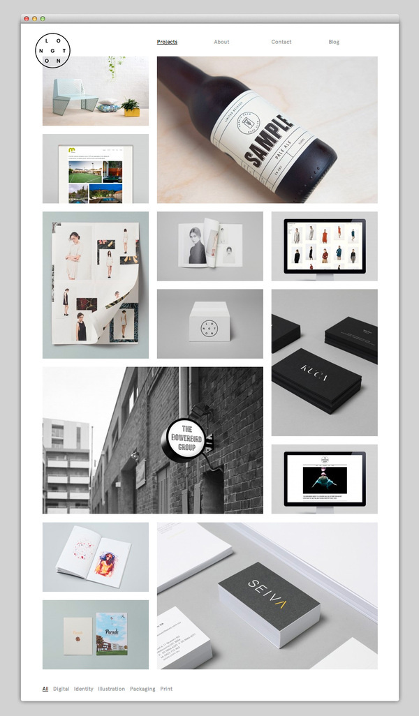 Longton #website #layout #design #web