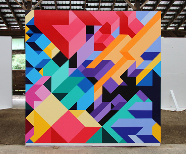 Adam Daily paintings #painting #geometric