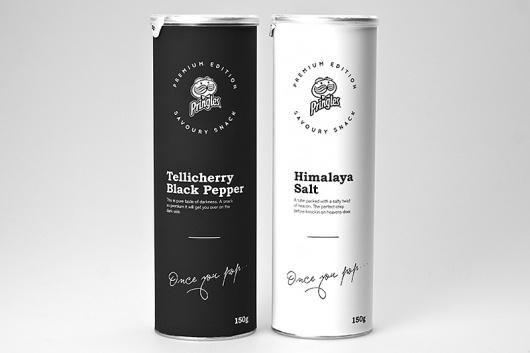 Looks like good Packaging Design by Niklas Hessman #pepper #packing #pringles #premium