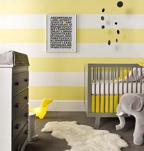 Cute Nursery Decorating Ideas #ideas #nursery #decorating